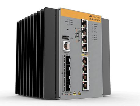 Allied Telesis IE300-12GP-80