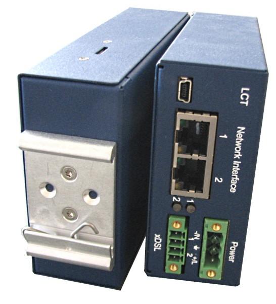 MiniFlex SHDSL.bis DIN-Rail Modem